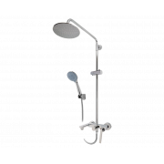 Смеситель для ванны Dart с жесткой стойкой