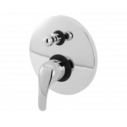 Смеситель встраиваемый скрытого монтажа с переключателем MB