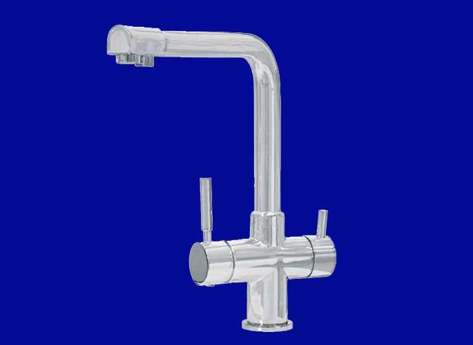 Смеситель AHTI  KM813015 с краном для питьевой воды Финляндия