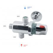 """Термостатический регулятор температуры смешивания воды 1/2"""""""